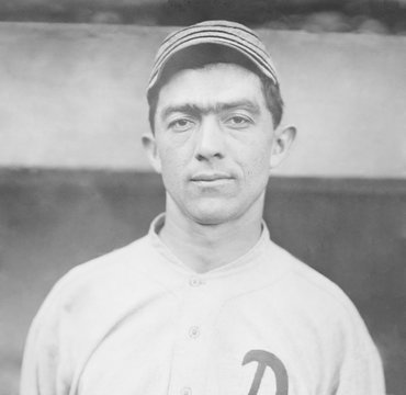 Frank Home Run Baker, played with the Philadelphia Athletics from 1908 to 1914