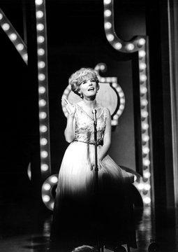 Petula Clark in performance, 1966