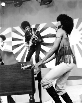 Sly And The Family Stone performing Everyday People on Upbeat, 1972