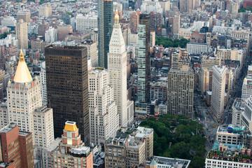 Midtown Manhattan, Madison Square Park and Flatiron Building, New York