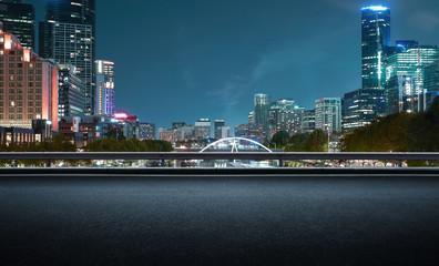Fotomurales - Melbourne urban cityscape skyline night scene