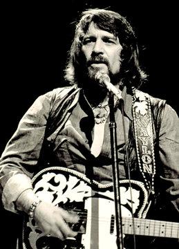 Waylon Jennings in concert, c. 1976