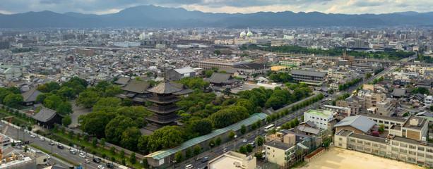 Poster Kyoto Toji Pagoda in Kyoto