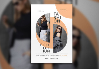 Fashion Collection Flyer Layout