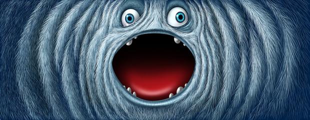 Yeti Snow Monster