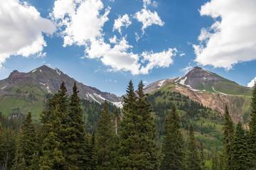 Million Dollar Highway Mountains