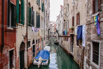 Aluminium Prints Venice Venice in Italy, the architecture of the city
