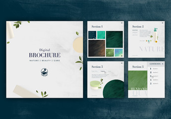 Digital and Animated Brochure Layout