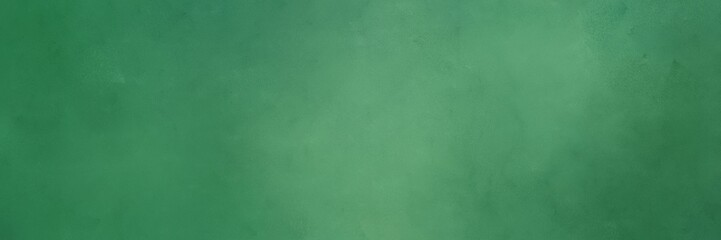 vintage abstract painted background with sea green, medium sea green and cadet blue colors and space for text or image. can be used as header or banner