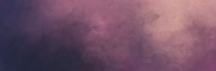 abstract painting background texture with dim gray, old lavender and rosy brown colors and space for text or image. can be used as header or banner Fotomurales