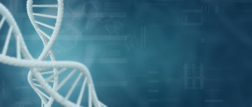 DNA Genetische Forschung - Biotechnologie