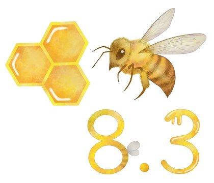 ミツバチ ハチミツ ハチミツの日