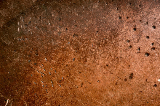 Worn copper texture with patina.