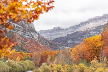 ordesa in autumn