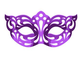 Mardi Gras carnival mask.