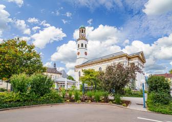 In de dag Oude gebouw Frankenthal