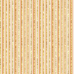 Watercolor hand drawn gold glitter grunge holiday stripped vintage seamless pattern