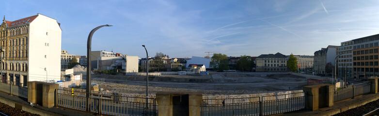 Baustelle Könneritzstraße Dresden