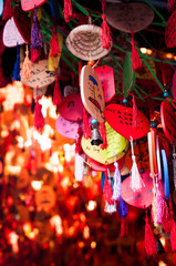 A modern twist of prayers and wishes in an ancient city --  Chongqing, China