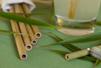 Trinkhalm aus Bambus