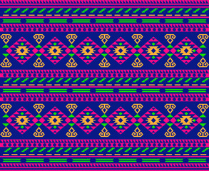 Fototapeta ethnic motif pattern design obraz