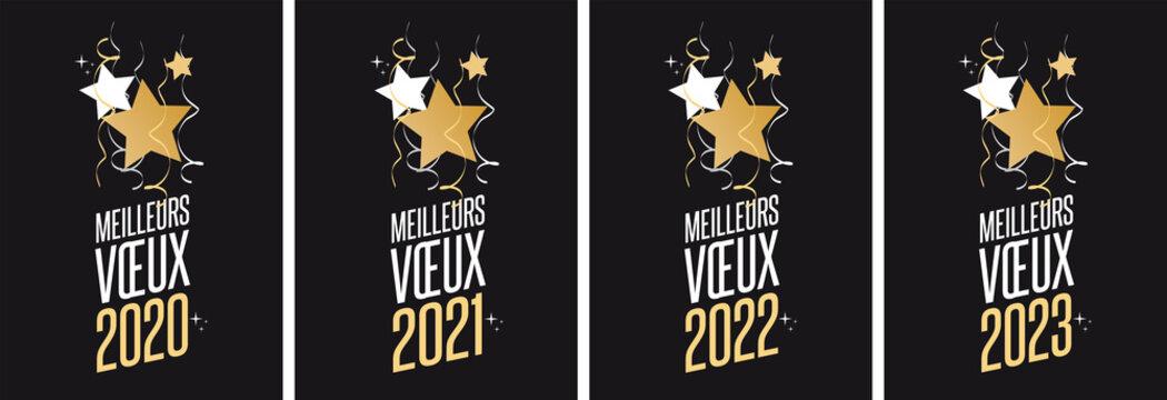 Meilleurs voeux 2020 à 2023
