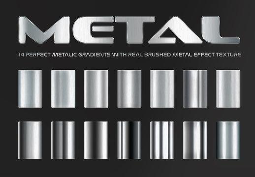 Metal effect Gradient bundle