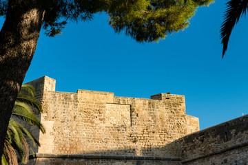 Swabian Castle in Manfredonia, Italy