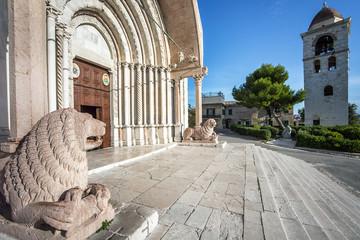 At the Duomo Cathedral San Ciriaco in Ancona Marche Italy