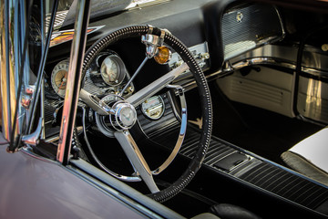 Sticker - Antique Car Interior