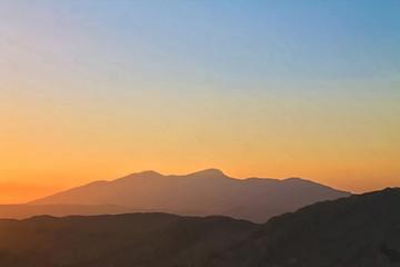 Fotobehang Heuvel Cielos de Guazapa