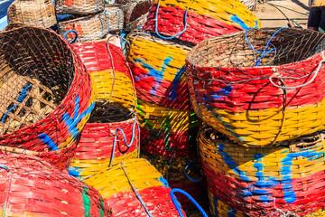 Fishermens baskets