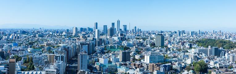 Poster Tokyo (東京都-風景パノラマ)ラウンジから望む池袋方面の風景2