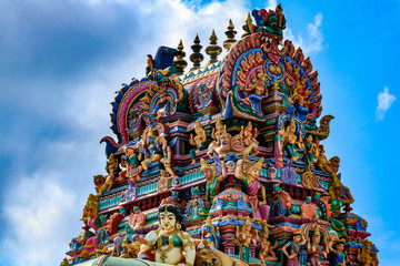 Wall Murals Place of worship temple in Chennai