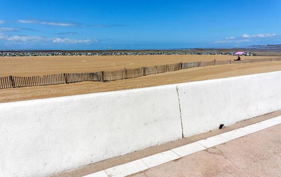 Chatelaillon beach in Charente maritime coast