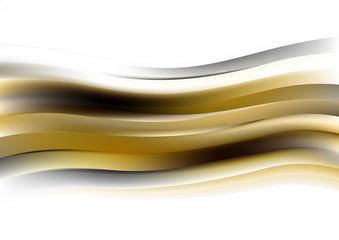 Fotobehang Fractal waves Curve Creative Background vector image design