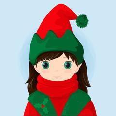 Girl elfo