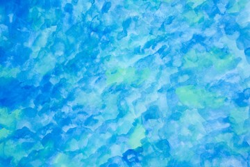 blue water background with abstract pattern