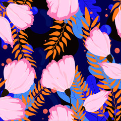 Illustration of floral pattern