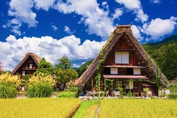 岐阜県・夏の白川郷の風景 3