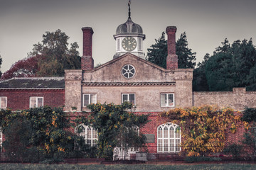 Felbrigg hall at autumn time