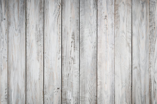 Blue wooden background with old painted boards
