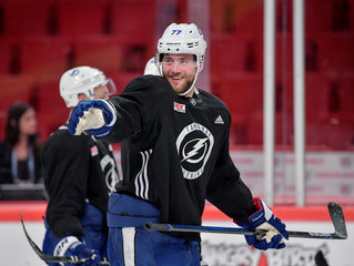 Tampa Bay Lightning Opening Practice Session