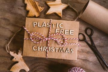 Plastic free Christmas Wall mural