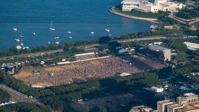 Lollapalooza Concert in Chicago