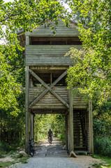 Nationalpark Müritz Radweg und Naturbeobachtungsstation