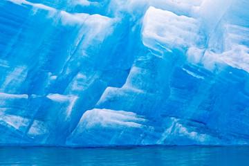Poster Antarctica Glacier Ice Pattern