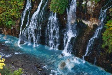 Printed roller blinds Waterfalls 白髭の滝