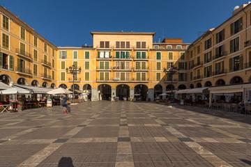 Square Placa Major - Mallorca - Spain