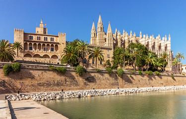 La Seu and Palace Almudaina - Palma de Mallorca - Spain